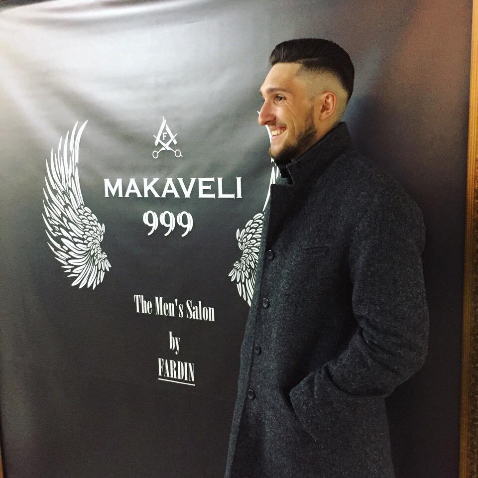 """Мужская стрижка любой сложности за 20 руб. в американском барбершопе """"Makaveli 999"""""""