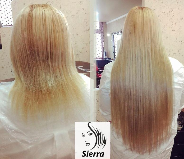 "Наращивание волос от 400 руб. в мастерской преображения ""Sierra"""