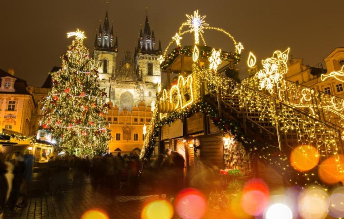 "Рождество трех столиц: ""Будапешт - Вена* - Прага"" за 332 руб/5 дней"