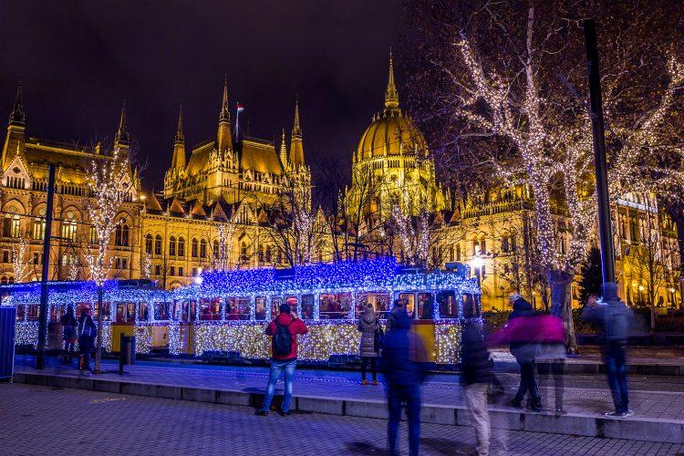 """Рождество 2018 в туре """"Будапешт - Вена - Прага"""" от 227 руб/5 дней. Отели 4*"""
