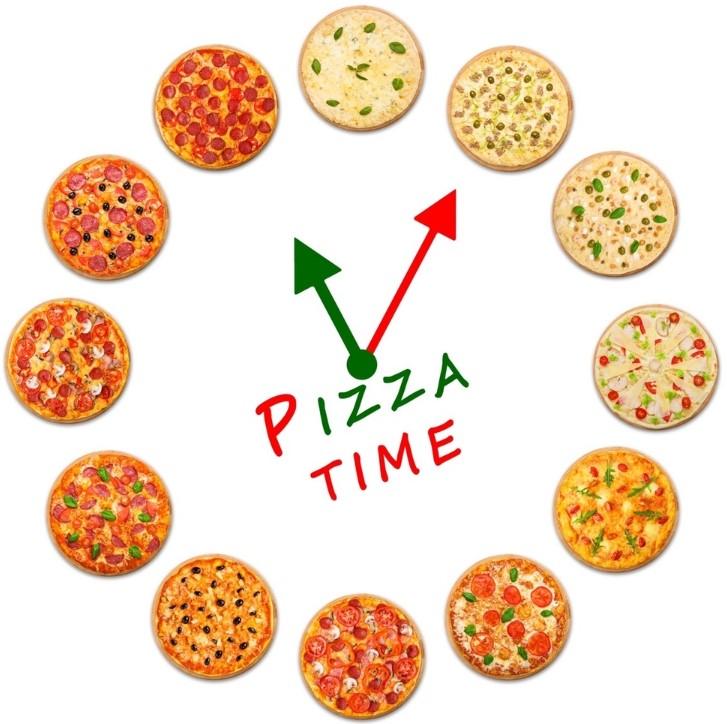 """Пиццы """"Pizza Time"""" 30 см от 7 руб. Доставка + навынос + в кафе"""