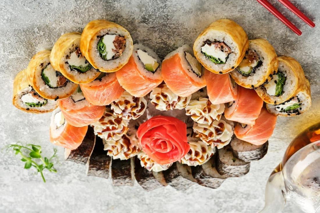 """Суши-сеты от 15,20 руб/до 2039 г от """"More sushi"""""""