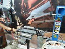 Шиномонтаж на Хоружей, заполнение шин азотом, хранение, вырезка ц/о
