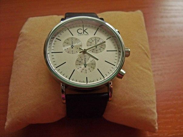 Женские и мужские часы Calvin Klein