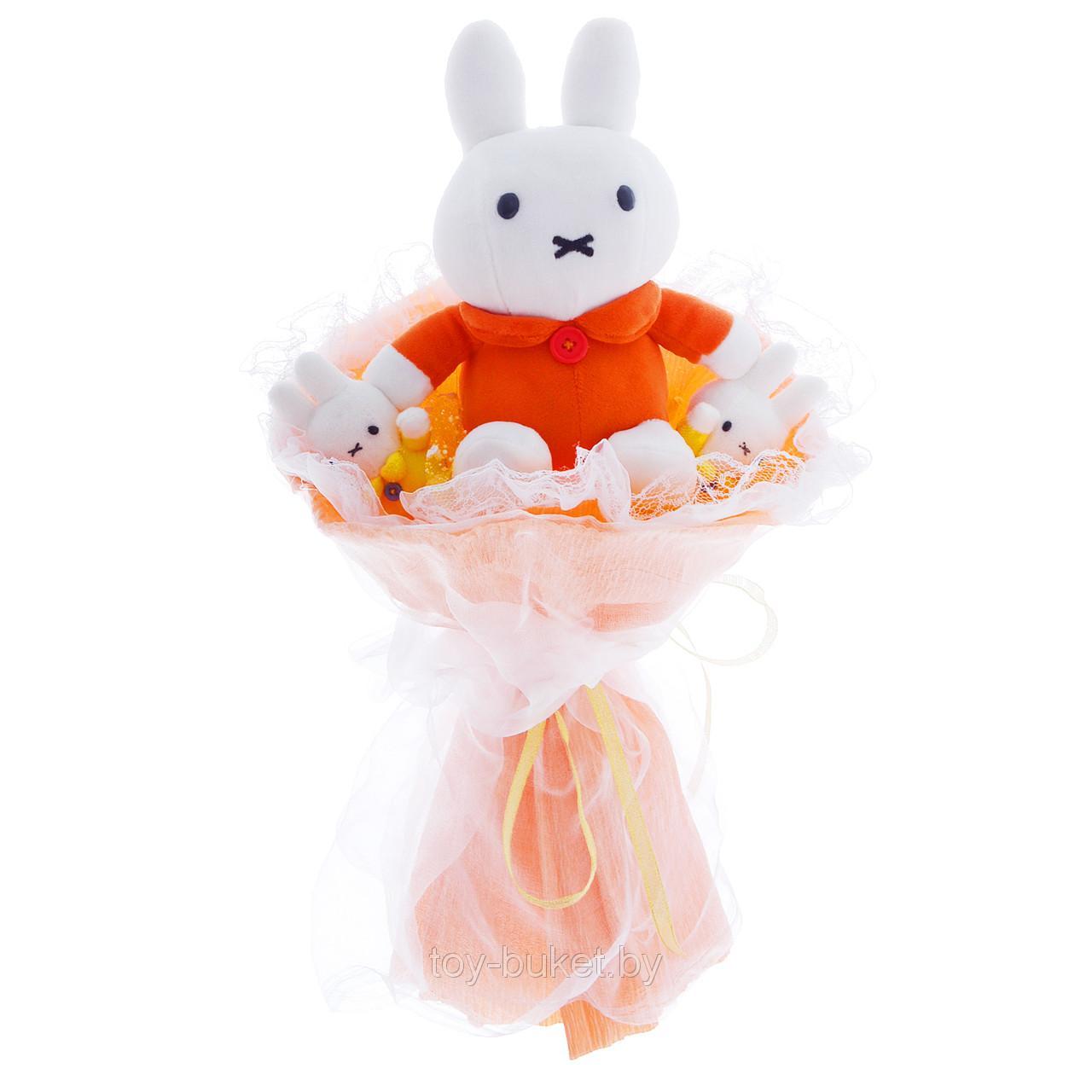 Букеты из мягких игрушек всего от 21,50 руб.