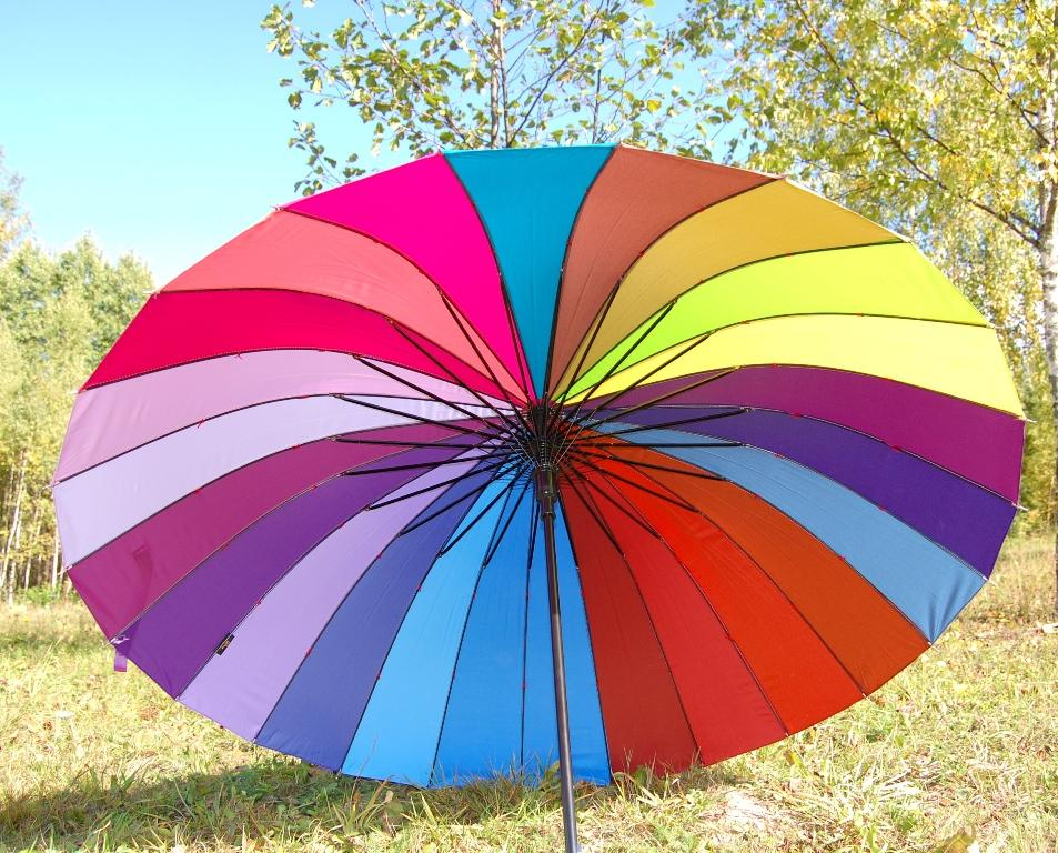 """Хит сезона! """"Зонт-наоборот"""" и другие зонты от 8,50 руб."""