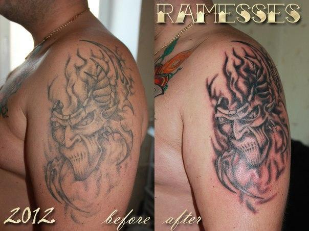 Татуировка любой сложности от 55 руб.