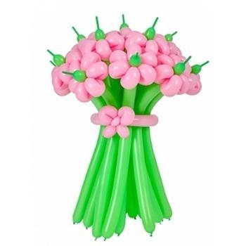 Гелиевые, светящиеся, ходячие шары от 1,20 руб, букеты цветов из шаров от 6 руб.