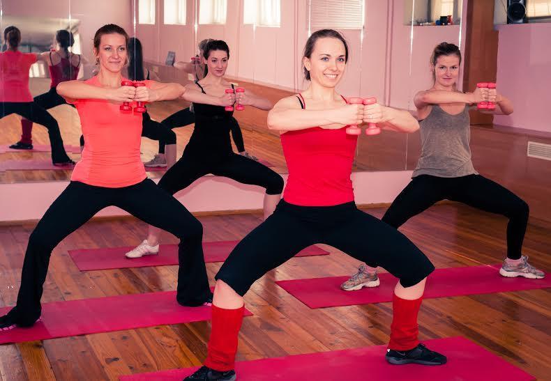 Стрип-пластика, пилатес, фитнес-йога, степ, стретчинг и др. от 12,50 руб./зан.