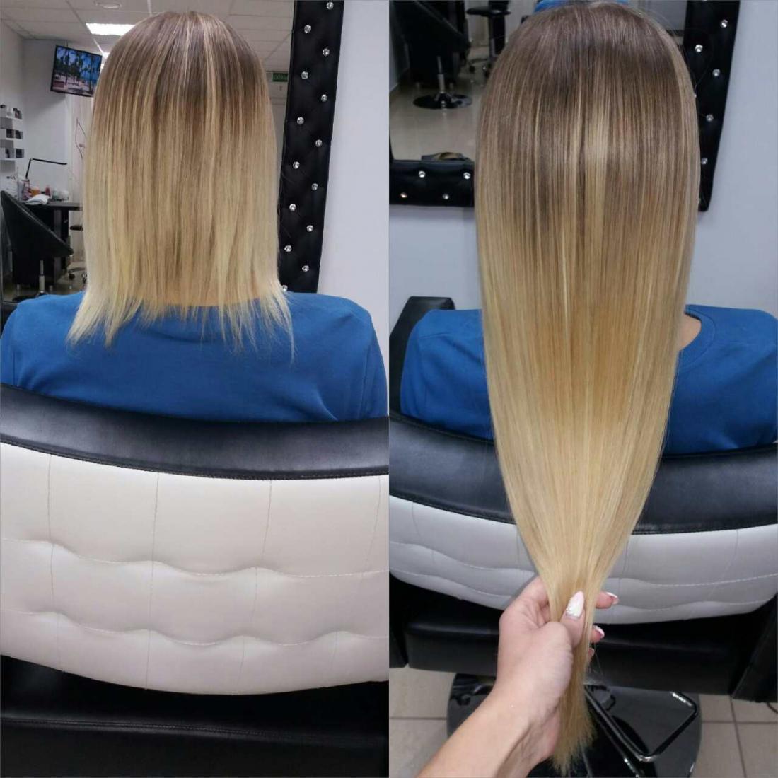 Наращивание волос, коррекция волос, снятие от 380 руб.