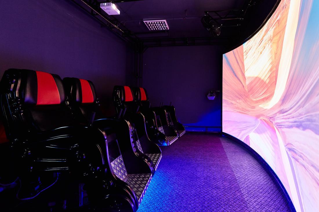 """Билет в 5D-кинотеатр в парке развлечений """"Фан Сити"""" за 2,50 руб."""