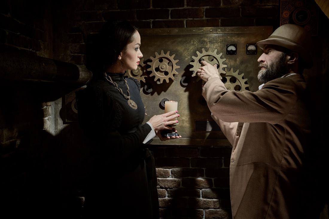 """Захватывающее детективное приключение в Лондоне: квест """"Братство масонов"""" от 24 руб/до 6 человек"""