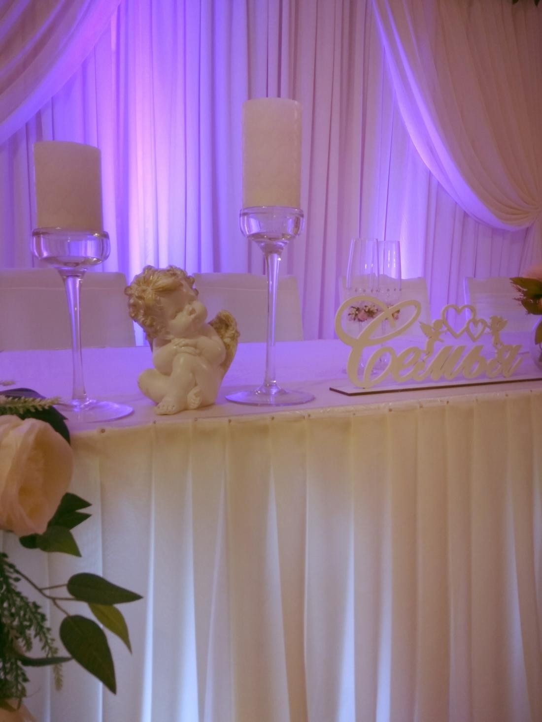 Украшение зала на свадьбу, юбилей, корпоратив, выпускной со скидкой 50% + подарок!