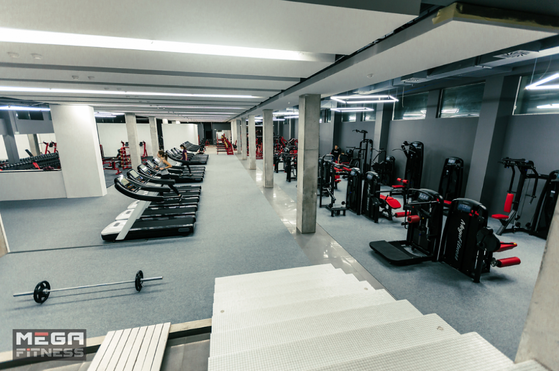 """Безлимитные абонементы в тренажерный зал """"MEGA Fitness"""" от 58 руб/месяц"""