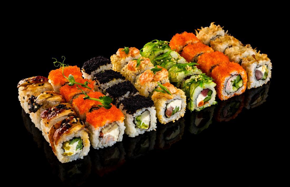 """Сеты в суши-баре """"Манга"""" всего от 19,20 руб."""