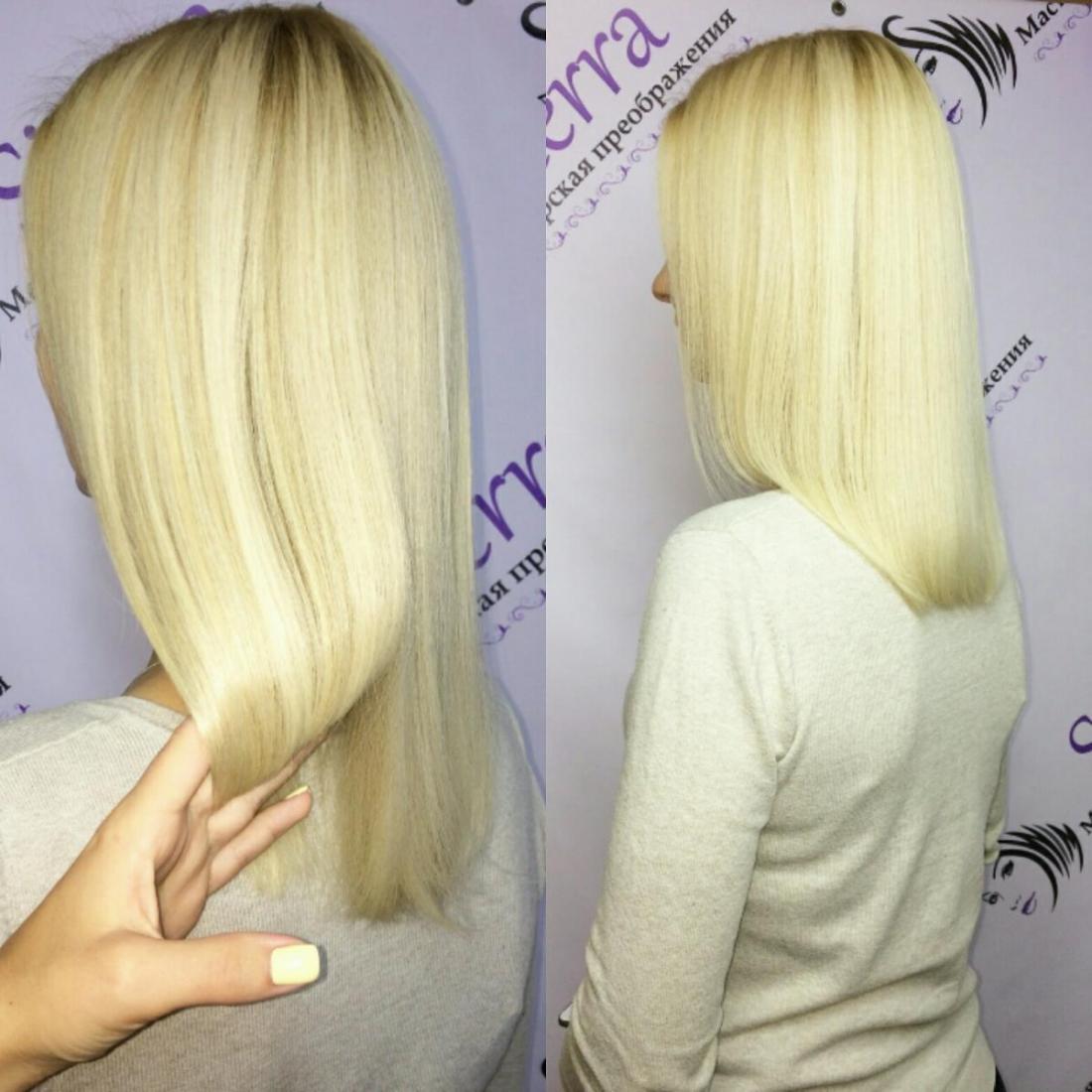 Бразильское выпрямление, различные виды лечения волос всего от 12 руб.
