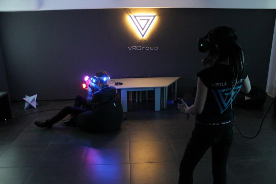 Виртуальная реальность с PS VR и HTC VIVE от 2 руб.