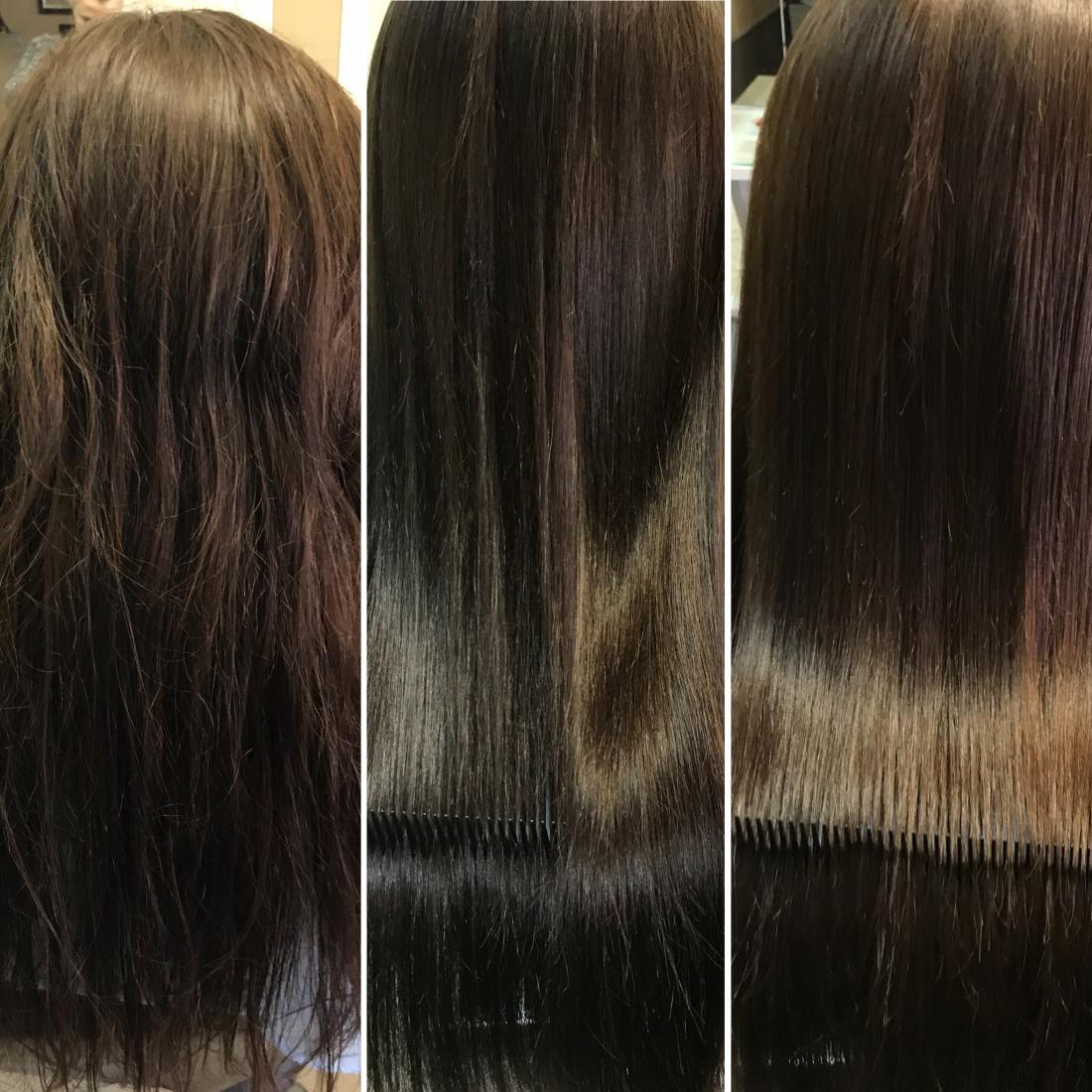 Ботокс для волос brazilian blowout