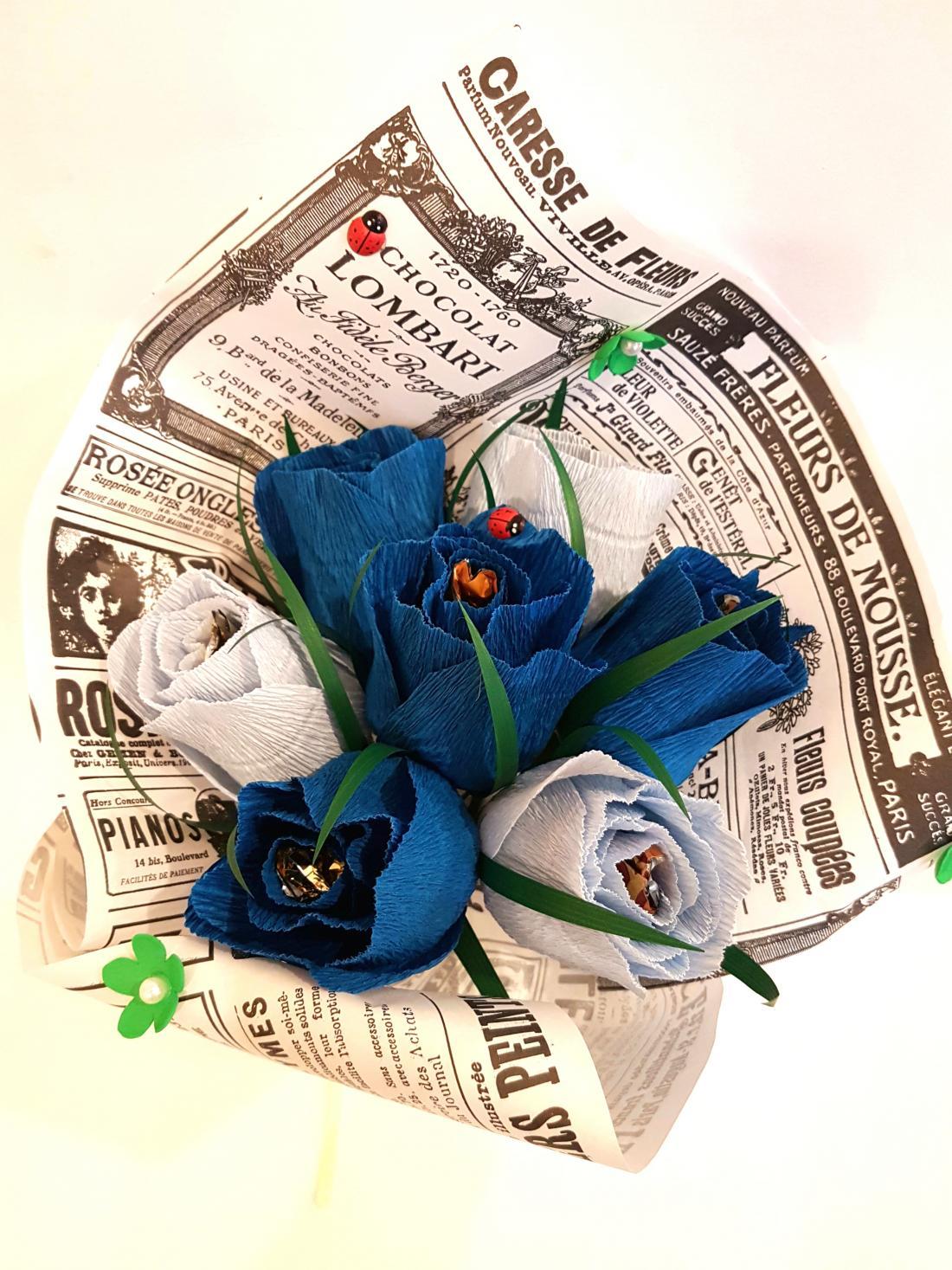 Эксклюзивные букеты из конфет от 11 руб + подарок!