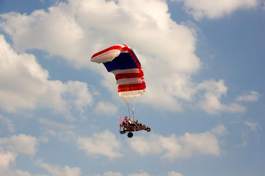 """Полеты на аэрошюте, подарочные сертификаты от 45 руб/от 10 мин. в """"АвиаторКлуб"""""""