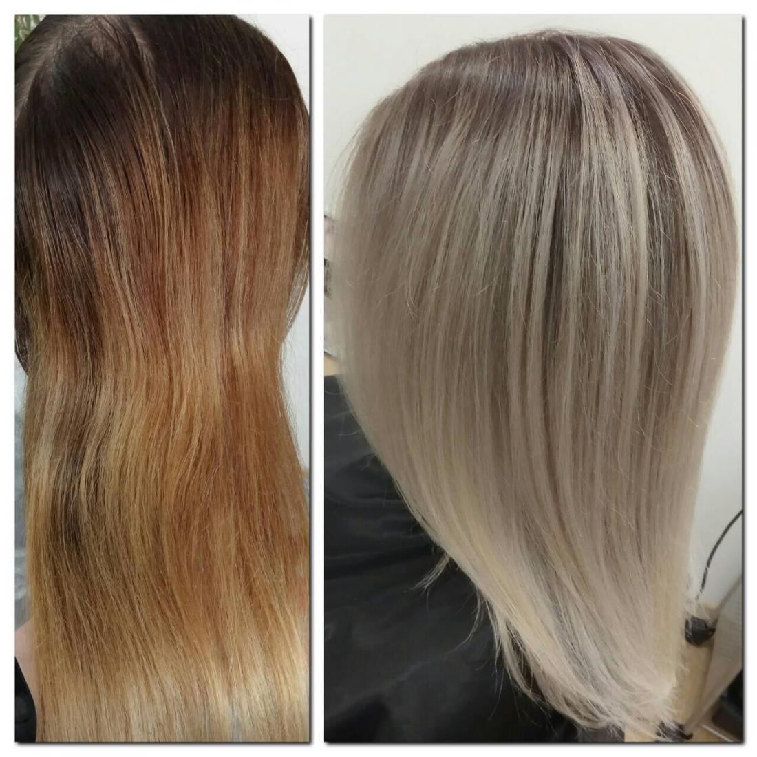 Стрижка челки, различные виды окрашивания, реконструкция и восстановление волос от 30 руб.