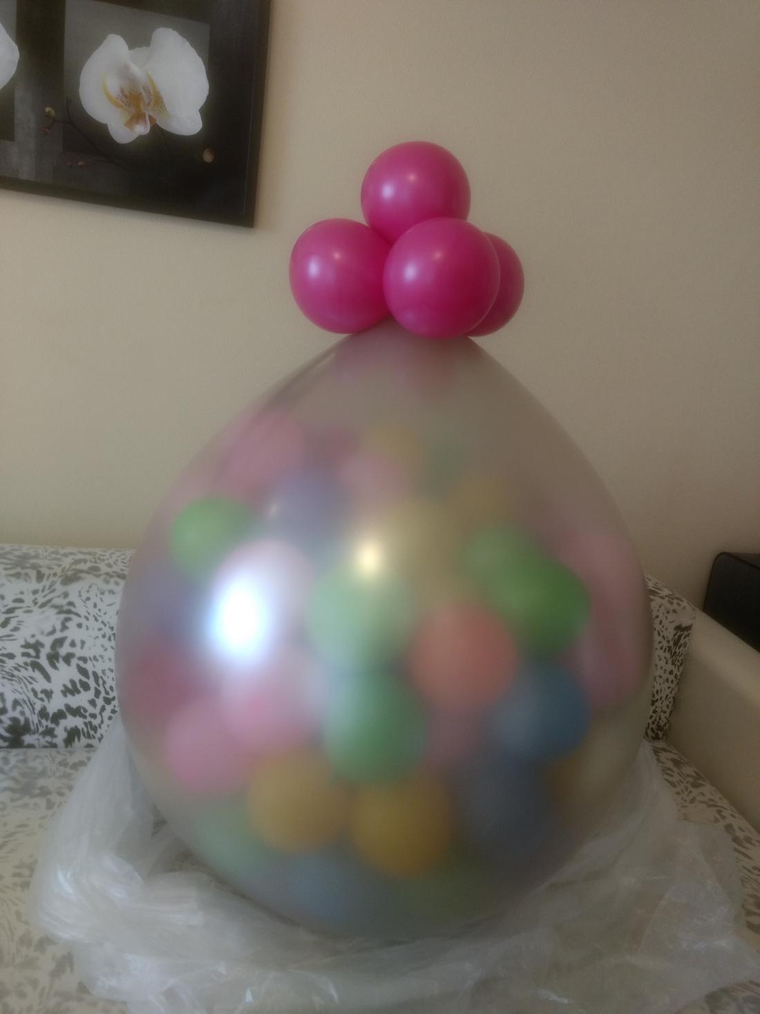 Латексные, фольгированные шары, шар-сюрприз, шары-гиганты от 1 руб/шт.