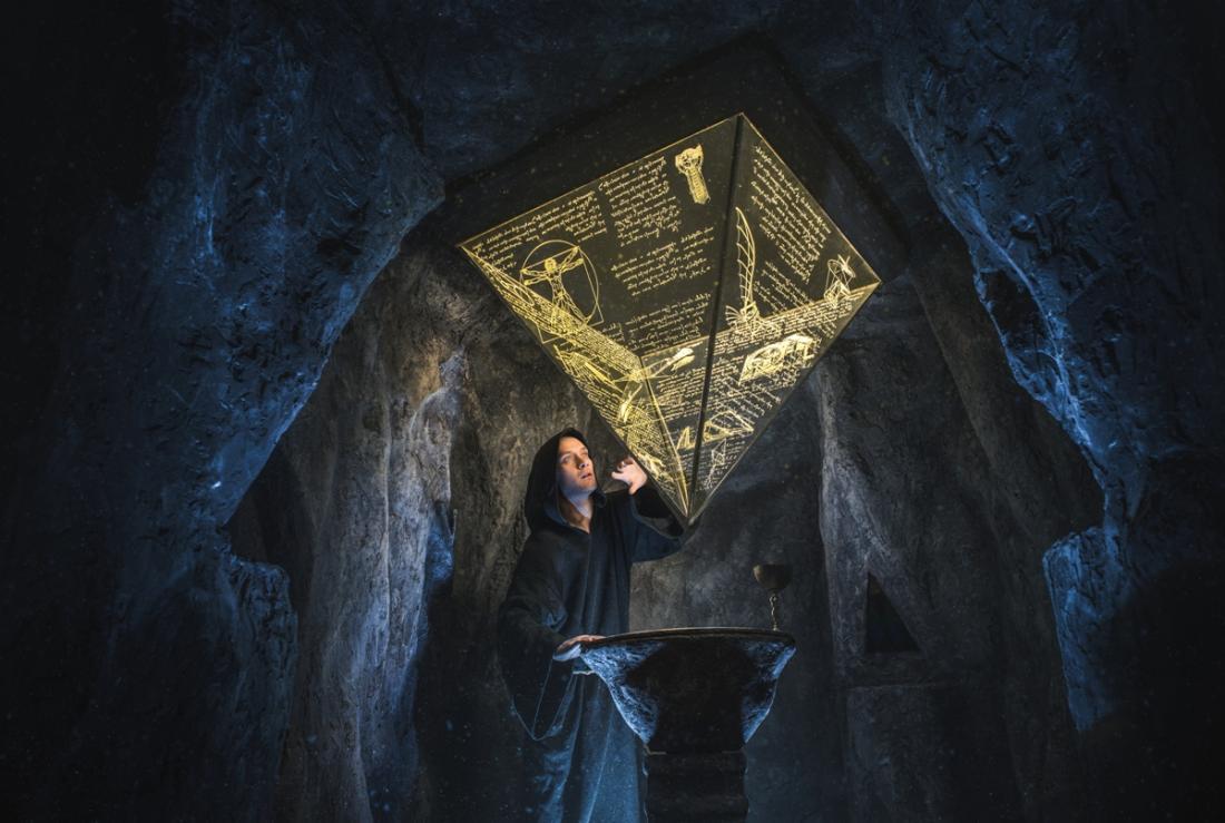 """Просто космос! Квесты в реальности """"Пятый элемент"""" и """"Код да Винчи: В поисках Грааля"""" от 30 руб."""