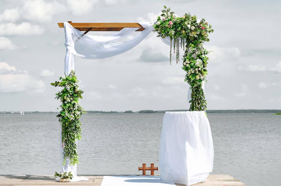 """Скидка до 70% на оформление свадебного зала от студии декора """"Decor With Love"""""""