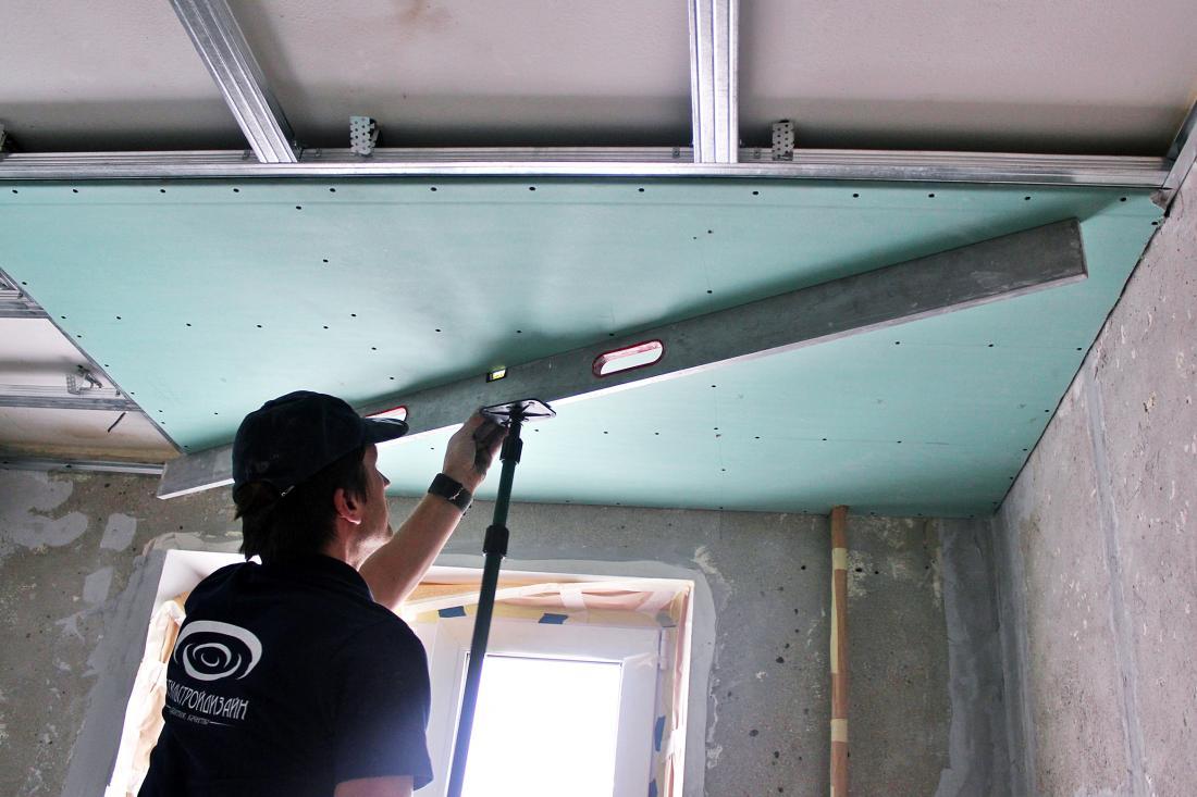 Натяжные, экотканевые, двухуровневые потолки, ГКЛ, установка парящих линий, фотопечать от 12 руб/м2