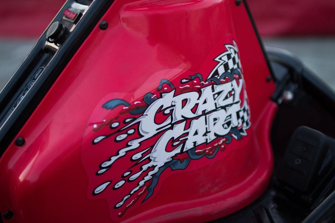"""Заезды на дрифт-карте """"Razor Crazy Cart"""" всего за 4 руб/10 мин."""