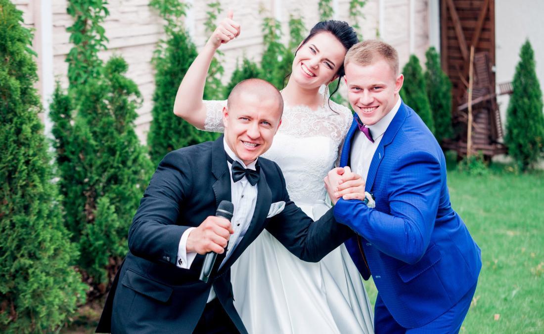 Ведущий на свадьбу, корпоратив, выпускной, организация мероприятий со скидкой до 50%