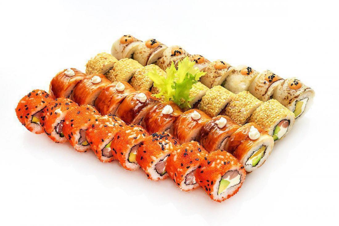 """Креативные суши-сеты с доставкой от """"Fusion sushi"""" от 16,90 руб/590 г"""