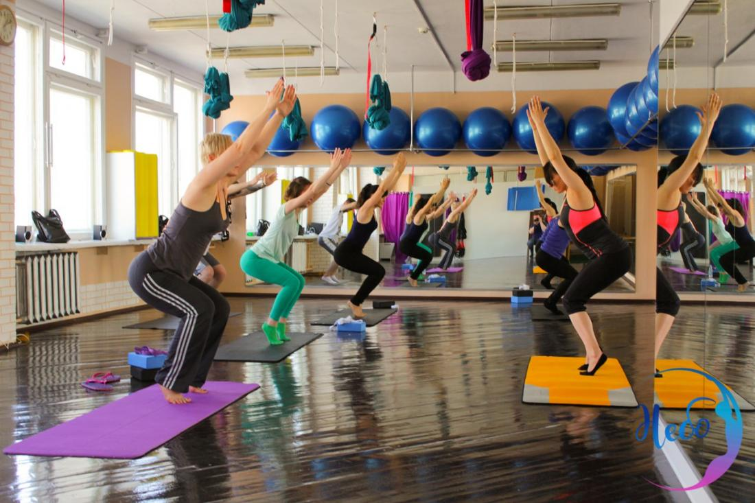 """Все направления фитнеса всего от 3 руб/занятие + абонементы со скидкой до 50% в клубе """"Небо"""""""