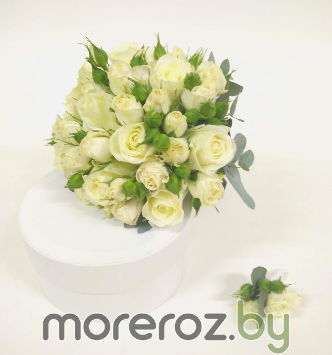 Букеты невесты от 59 руб, Розы премиум (Эквадор), розы РБ от  1,40 руб, кустовые розы от 2,90 руб/шт