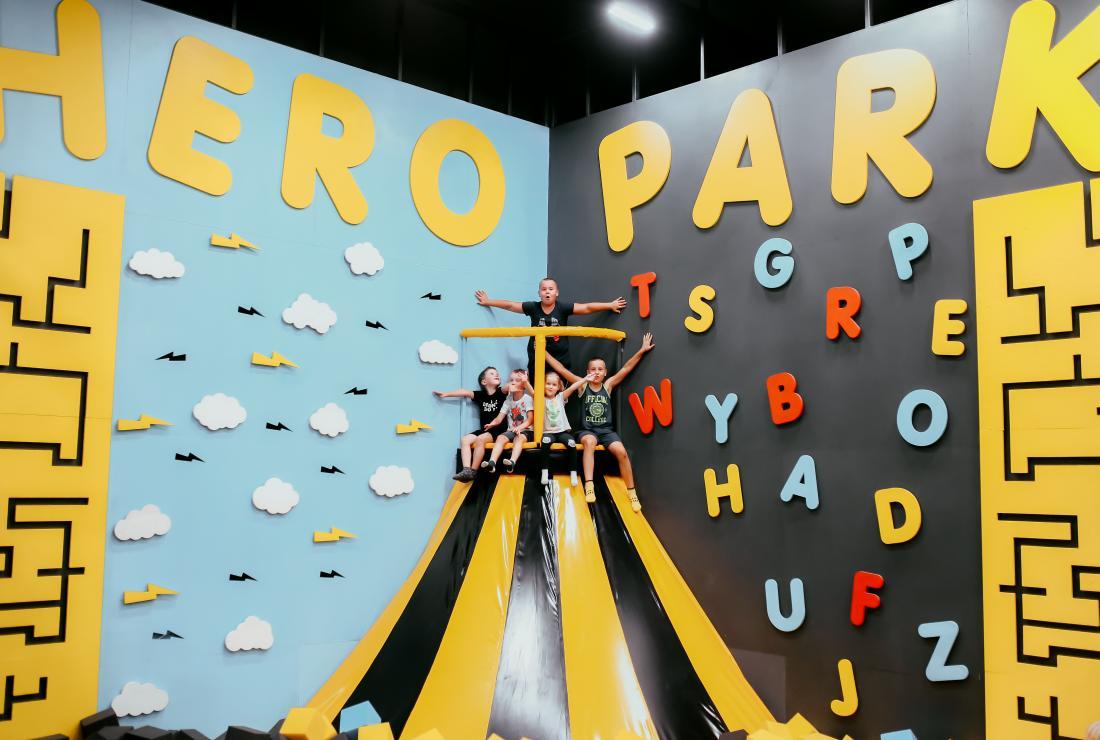 """Сеть батутных центров """"Hero Park"""" в Минске от 4,50 руб/60 минут"""