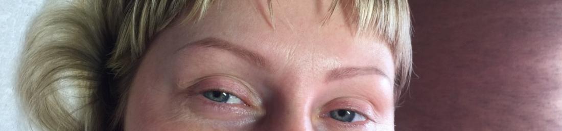 """Перманентный макияж бровей, век от 80 руб. в салоне красоты """"All time"""""""