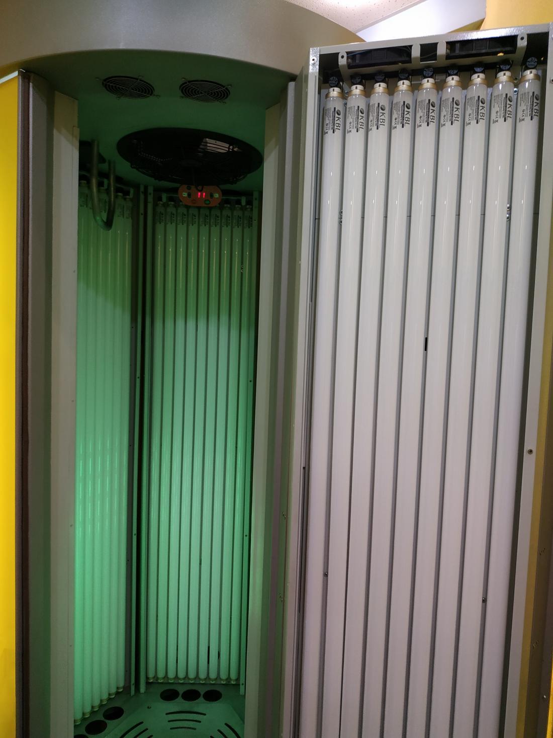 """Вертикальный солярий от 0,30 руб/минута в парикмахерской """"Сан Арт"""""""