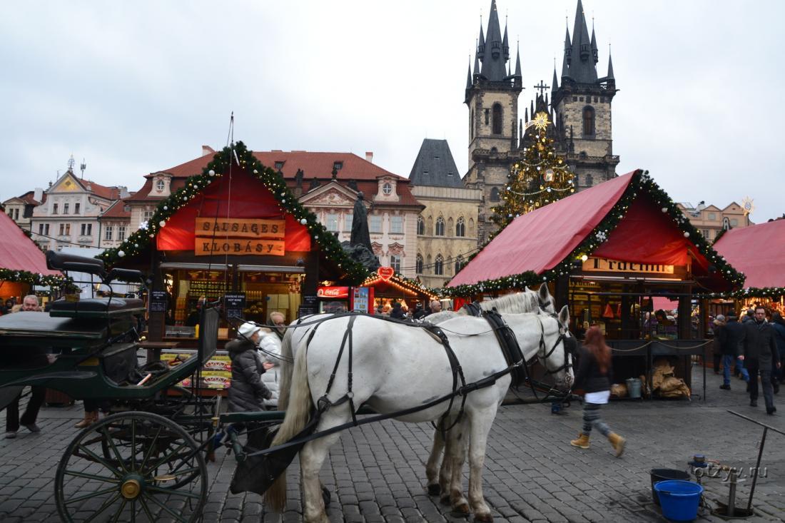 """Рождественский тур """"Прага - Карловы Вары* - Вена"""" всего от 230 руб/5 дней. Экскурсия в подарок!"""