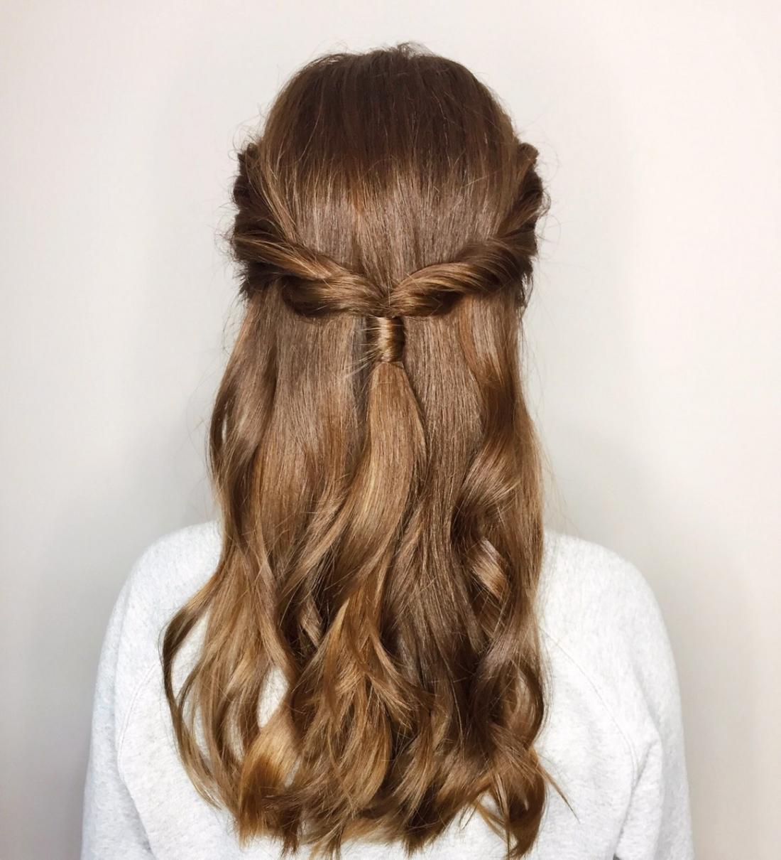 """Плетение волос, локоны, пучок от 20 руб. в салоне """"Salon 104"""""""