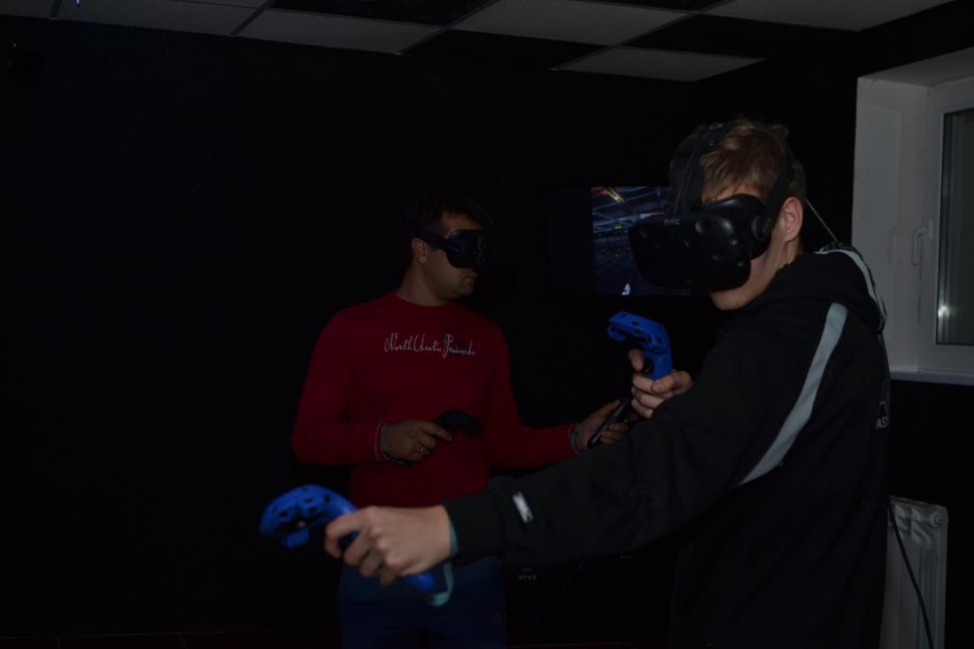 Сеанс виртуальной реальности в шлемахHTC Vive, Sony Playstation 4 VR от 2 руб.