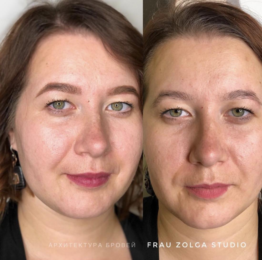 """Окрашивание, коррекция бровей и ресниц, экспресс-макияж, комплексы от 5 руб. в студии """"Frau Zolga"""""""