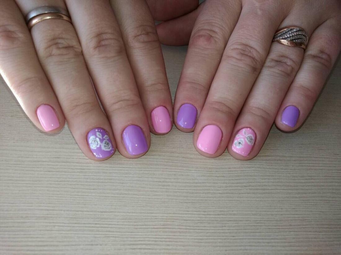 """Маникюр/педикюр + долговременное покрытие, наращивание ногтей от 10 руб. в студии красоты """"Лали"""""""