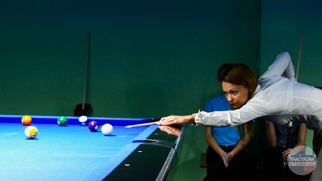 Обучение игре на бильярде для детей и взрослых от 7,50 руб/занятие