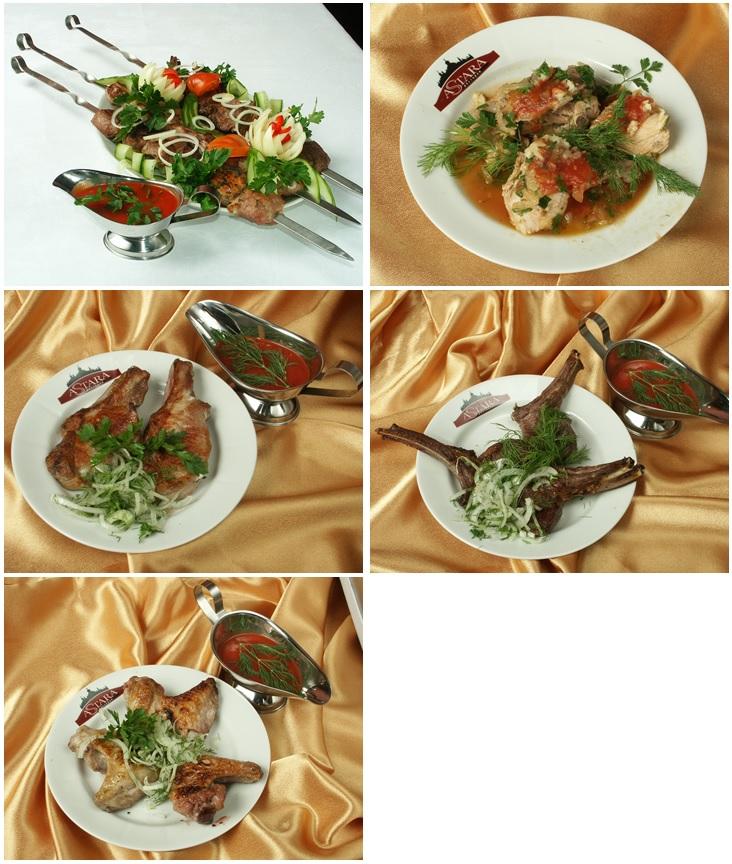 Шашлык, люля-кебаб, шашлычный соус от 1,65 руб./50 г