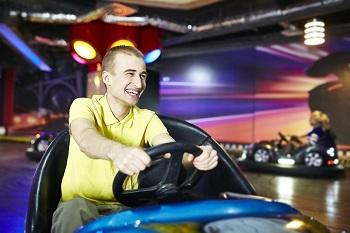 """Заезды на автодроме """"Bumper park"""" всего за 1,50 руб.!"""