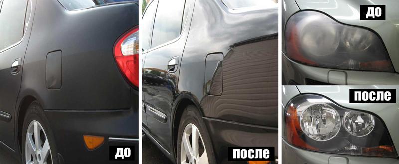 Обзор устройств для защитной полировки кузова автомобиля
