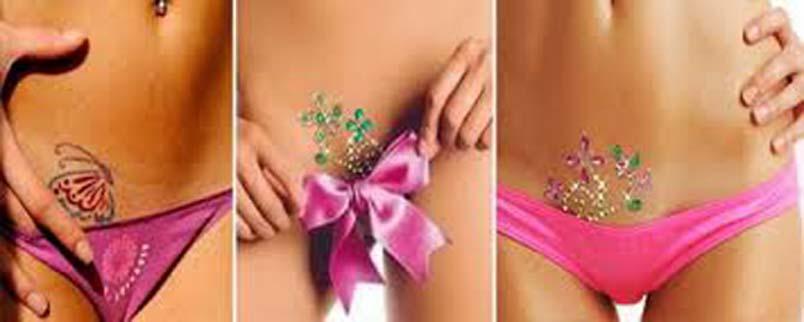 1 интимная стрижка (или бикини-дизайн) – истоки.
