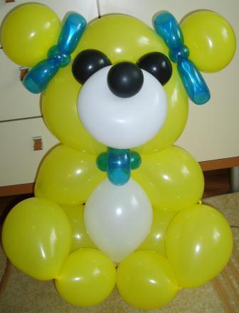 Оригинальные игрушки из воздушных шаров всего за 7,50 руб.