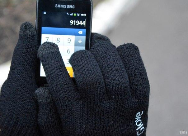 Перчатки для сенсорных телефонов iGlove от 9,90 руб.