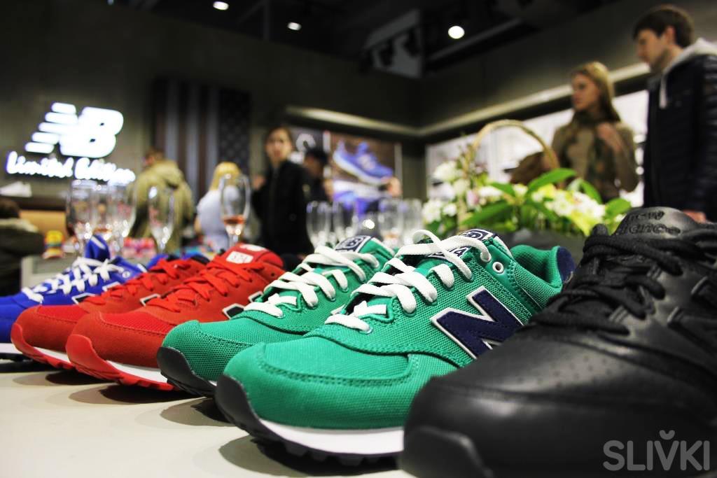 В Минске открылся фирменный магазин New Balance!